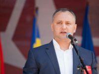 Игор Додон: Заради споразумението за асоцииране с ЕС Молдова загуби около 50% от износа си за Русия