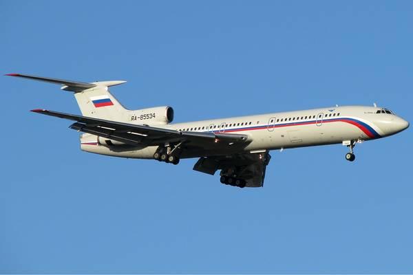 Русия преустановява полетите на самолети Ту 154