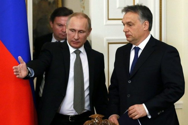 Унгария заяви намерението си за разширяване на газовото сътрудничество с Русия