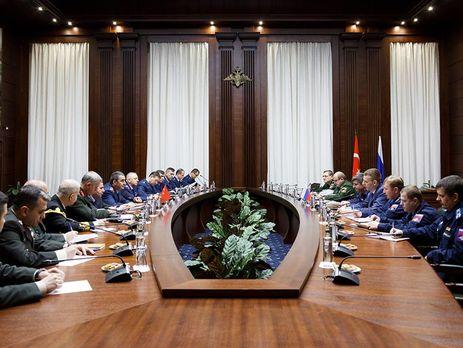 Русия и Турция подписаха споразумение за бойните си полети в Сирия