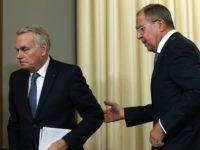 Външните министри на Русия и Франция обсъдиха конфликта в Близкия изток