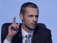 Шефът на УЕФА подкрепи Мондиала в Русия