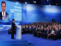 """Преизбраха Медведев начело на """"Единна Русия"""""""
