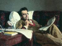 Портрет на Глинка от Иля Репин, рисуван 30 години след смъртта на композитора