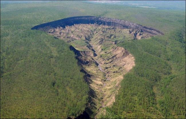 Тайнственият сибирски кратер