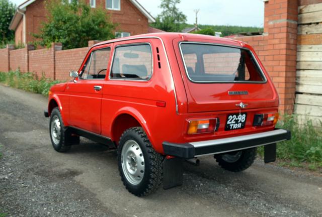 Автомобил Нива се продава за 5 млн.рубли