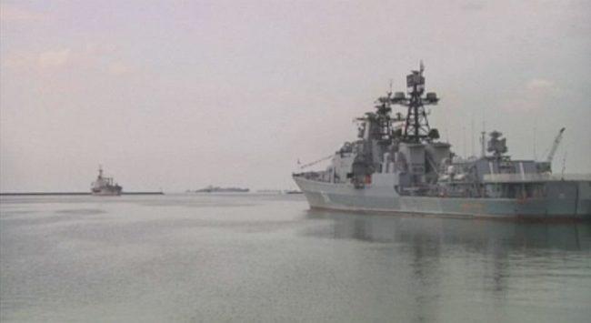 Руски военни кораби пристигнаха във Филипините