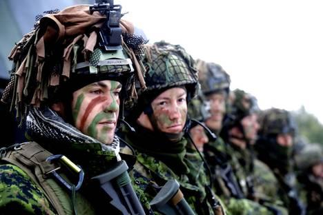 Литовски войници от НАТО. Снимка: Reuters