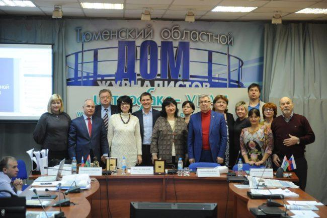Снежана Тодорова се срещна с журналисти по време на посещението си в Тюмен