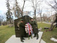 Полагане на венци и цветя на  паметника  на  граф Игнатиев по случай руския Ден на дипломата