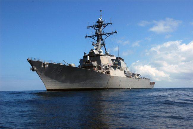Руски самолети прелетели опасно близо над US кораб в Черно море
