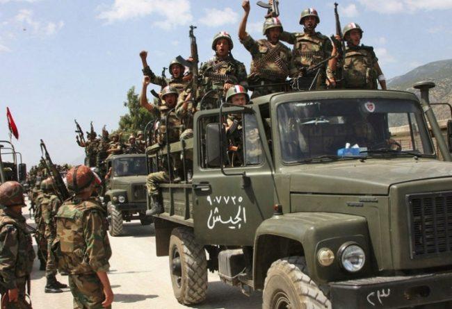 Сирийската армия с подкрепата на руската авиация настъпва неудържимо към Палмира, превзема ключови позиции