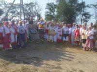 Българин от Москва постави паметна плоча в столицата на Велика България в Крим