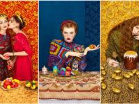Руски фолклор и висша мода