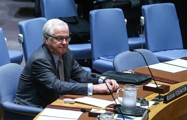 С едноминутно мълчание в ООН почетоха паметта на постоянния представител на Русия