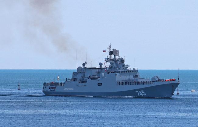 """Фрегата """"Адмирал Григорович"""" заминава за Сирия"""