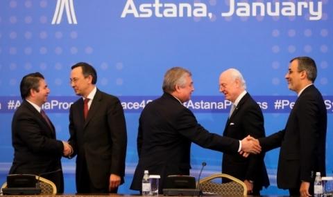 Делегация на САЩ се присъедини към разговорите за Сирия