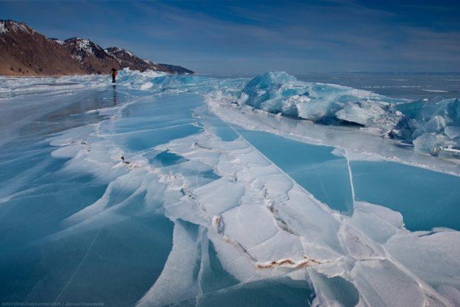 Състезание за смелчаци – три дни по леда на езерото Байкал