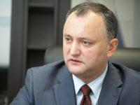 Игор Додон е обсъдил възобновяване на молдовския износ за Русия с посланика в Кишинев