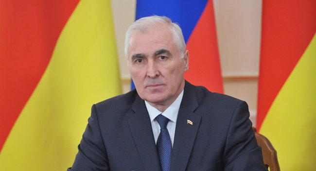Президентът на Южна Осетия Леонид Тибилов