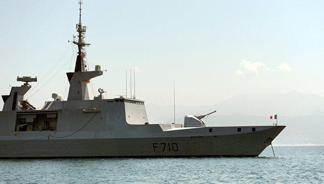 В Черно море навлезе френска фрегата-невидимка с управляеми ракети на борда