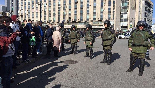 """Русия: антикорупционните протести в Москва са """"провокация"""""""