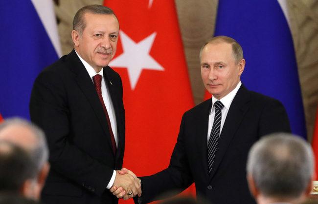 Ердоган: Турция, САЩ и Русия могат заедно да се борят срещу ИД в Сирия