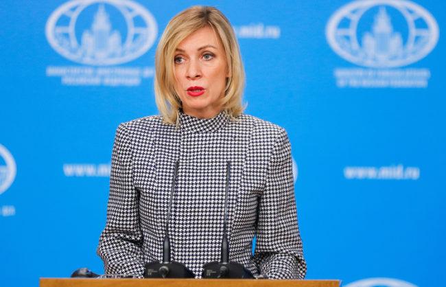 Мария Захарова: реакцията на Запада спрямо митингите в Русия е отдавна планирана кампания