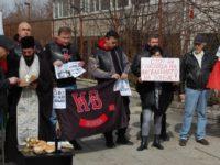 В София протестираха срещу Порошенко