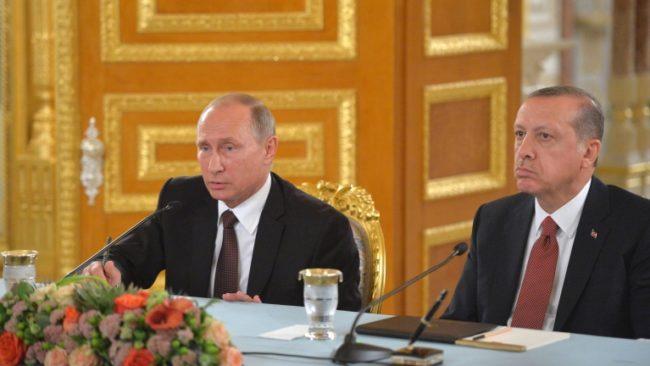 Путин и Ердоган се срещат на 10 март в Москва