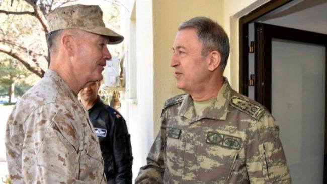 Първа среща на шефовете на генщабове на Турция, САЩ и Русия