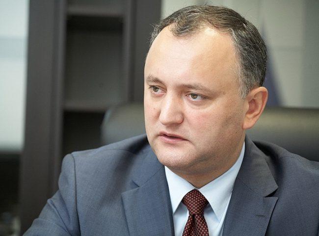 ТАСС: Следващата седмица Игор Додон ще посети Москвао