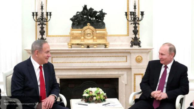 Путин поздрави Нетаняху с предстоящия празник Пурин