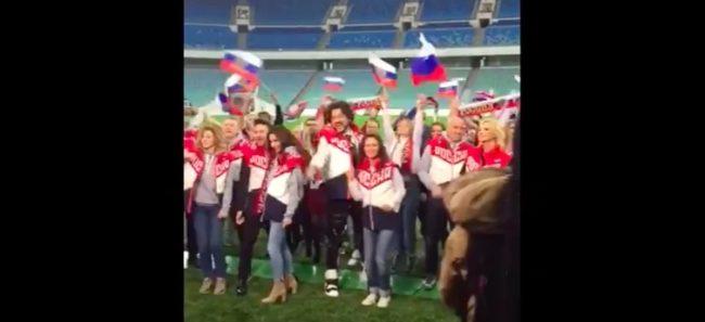 Българската звезда на руската музика пее химна на Мондиал 2018