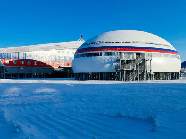 Русия показа секретна военна база в Арктика