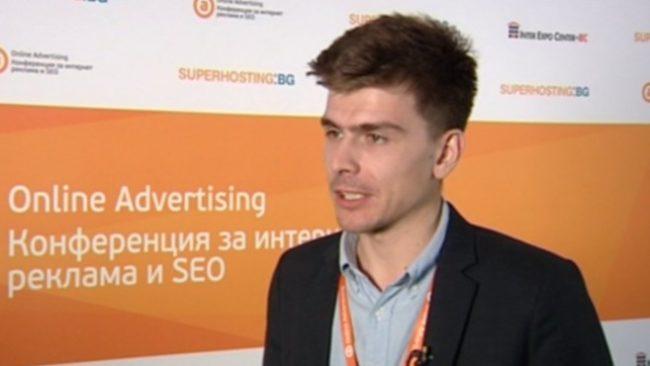 Денис Злобин, Yandex. Снимка: Bloomberg TV Bulgaria
