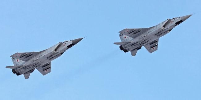 Изтребители-прихващачи МиГ-31 извършиха полет от Камчатка до Задбайкалието