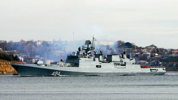 Руски и турски кораби заедно на маневри в Черно море