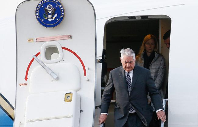 Държавният секретар на САЩ е пристигнал в Москва