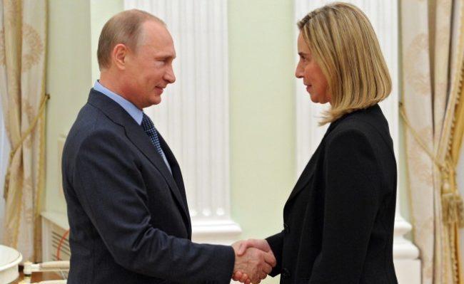 Федерика Могерини ще проведе първото си посещение в Русия