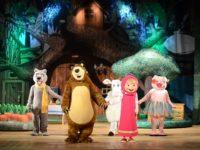 Хитовият спектакъл `Маша и мечока` с по две представления в София, Пловдив и Русе