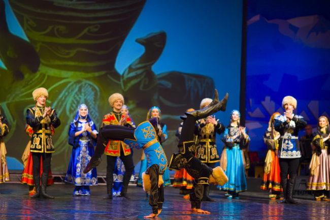 Лезгинка- красотата и силата на Кавказ