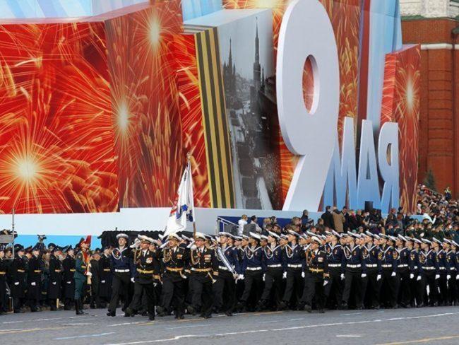 Репетиция преди парада за Деня на Победата в Москва