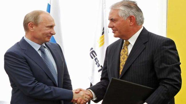 Дмитрий Песков: Тилърсън няма да се среща с Путин в Москва