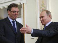 """Опитът за създаване на """"Велика Албания"""" бил тема на разговор на сръбския премиер Вучич с руския президент Путин"""