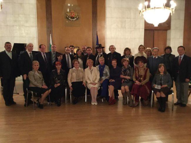 Среща на Съюза на българските писатели с руските им колеги в Москва