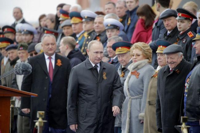 Денят на победата в Русия. Снимки