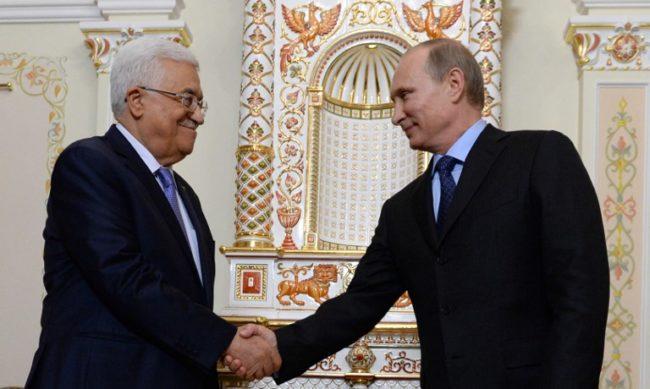 Владимир Путин и Махмуд Абас ще обсъдят урегулирането на конфликтите в Близкия изток и двустранните отношения