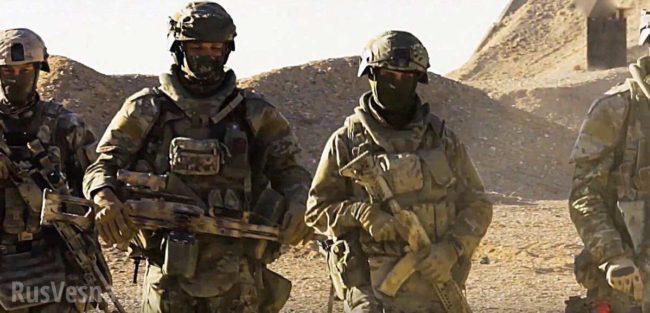 """""""Спецназ от СССР"""" изтребват бойци на Ислямска държава"""