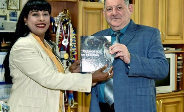 Журналистката Оля Ал-Ахмед преподава в Пятигорск